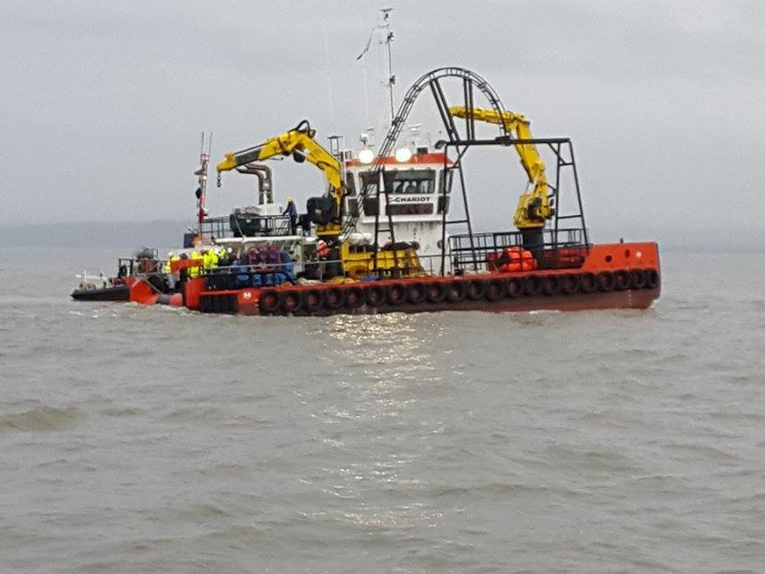 C-Chariot in the Bristol Channel