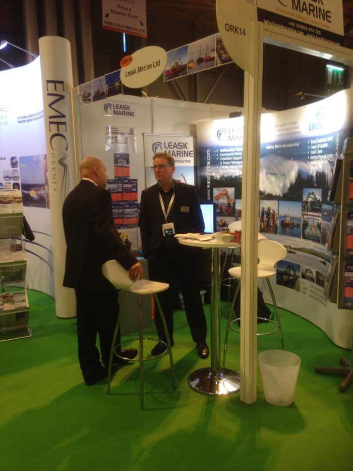 Leask Marine at All-Energy show Glasgow