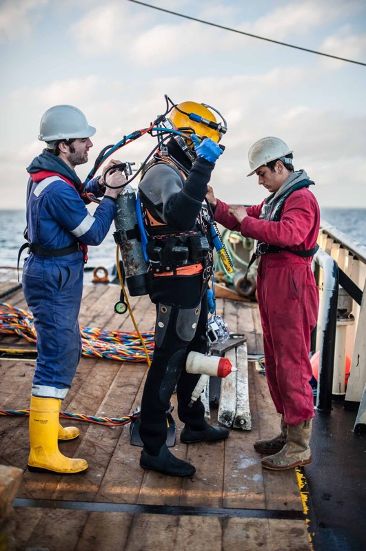 Commercial Diving - Leask Marine
