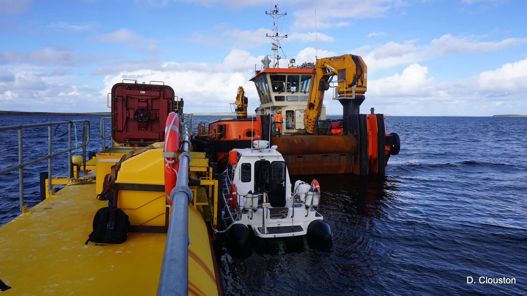 Leask Marine successfully complete recovery programme of the SR2000 turbine from EMEC test site