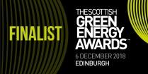 The Scottish Green Energy Awards – Shortlisted in The Scottish Green Energy Awards for Outstanding Service Award