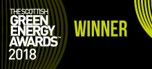 The Scottish Green Energy Awards – Winner of the Outstanding Service Award 2018