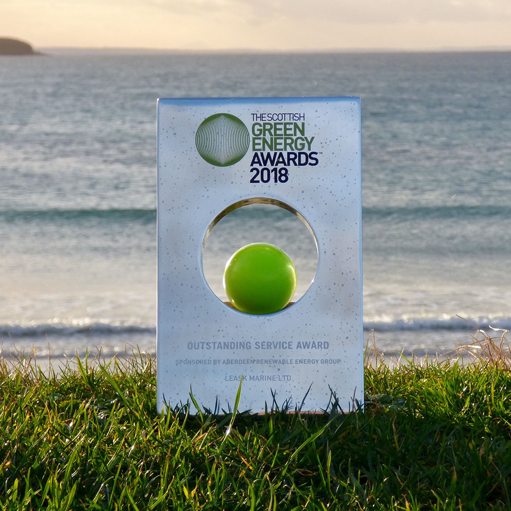 Green energy award 2018 - photo by Susan Macleod