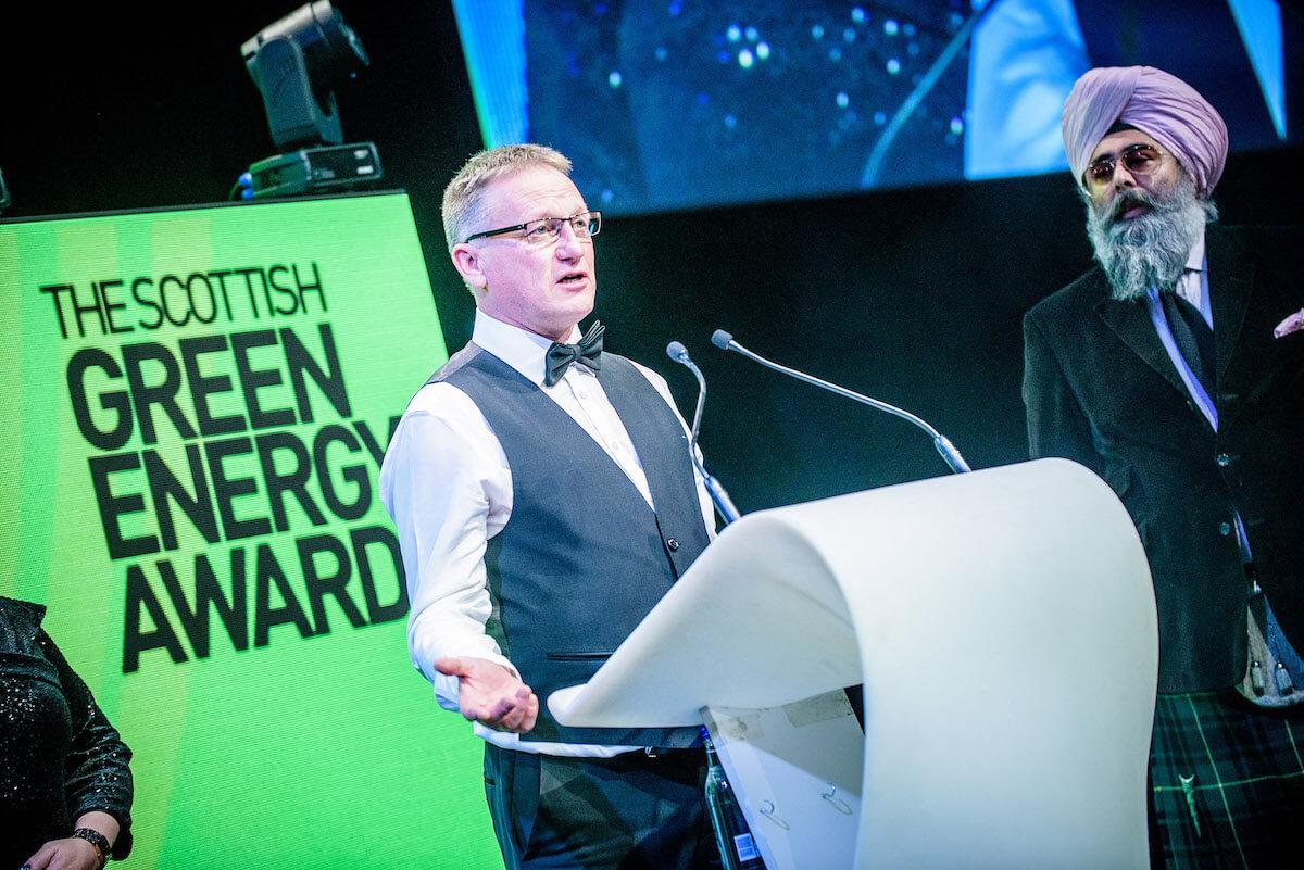 Leask Marine win Scottish Green Energy Award 2018