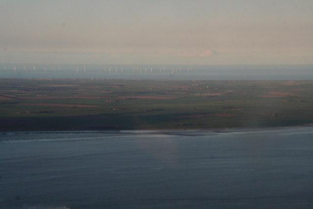 Westermost Rough Windfarm from Killingholme