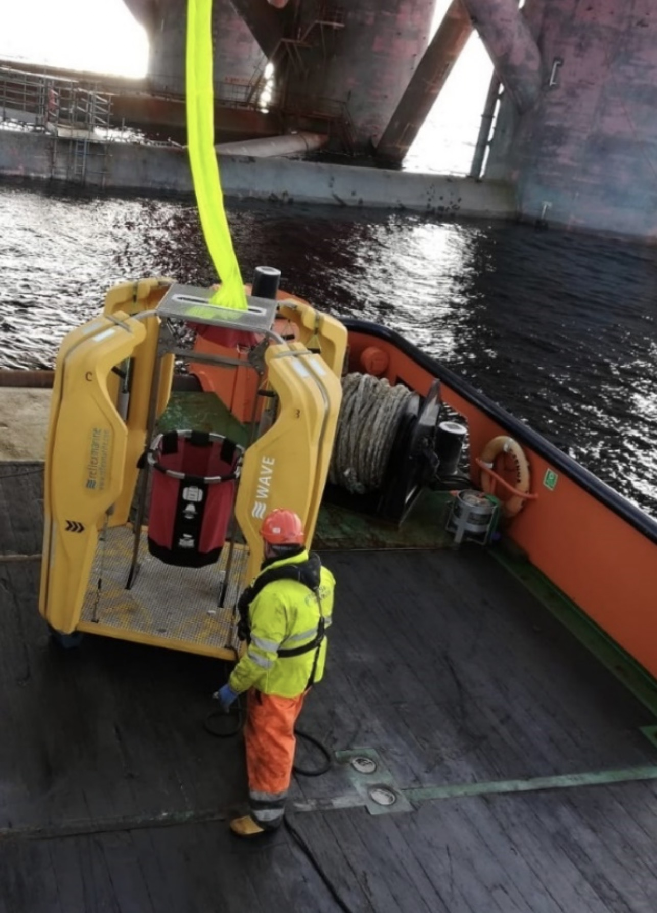 Leask Marine complete logistic supply operations