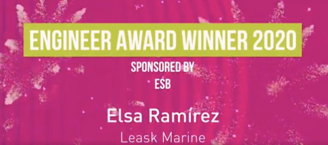 Elsa Ramírez wins prestigious Young Professionals Green Energy Award