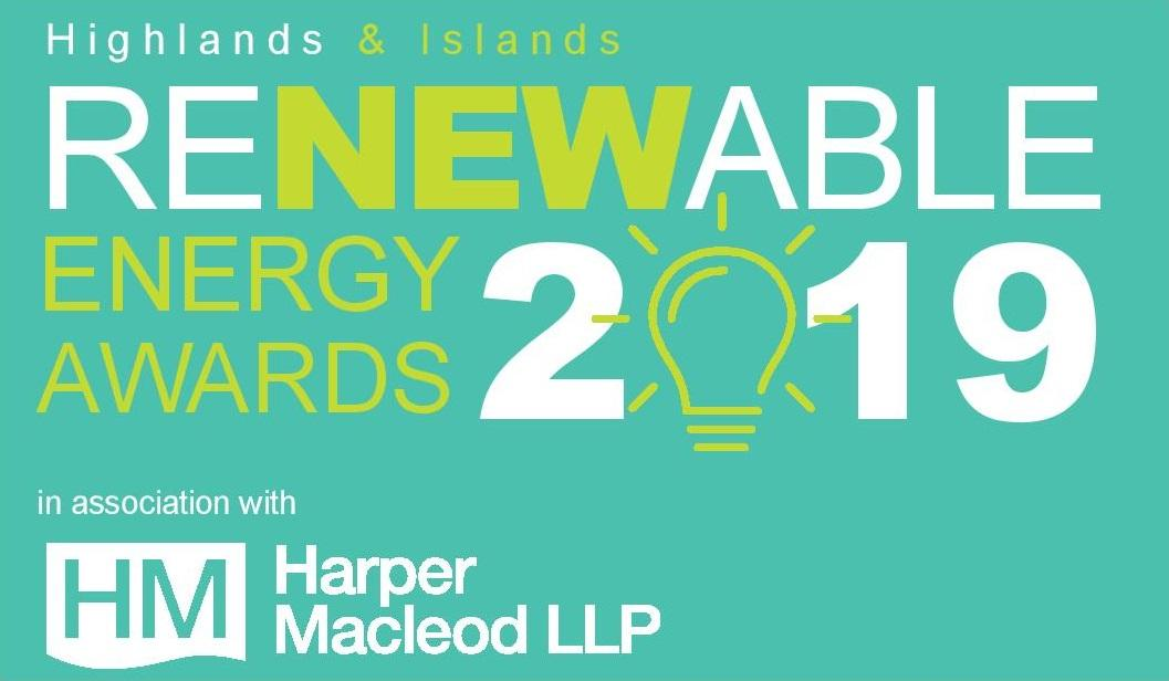 The Highlands and Islands Renewable Energy Awards – Winner of the Best Exporter category Award 2019