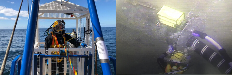 Diving operations Moray East Offshore Wind Farm