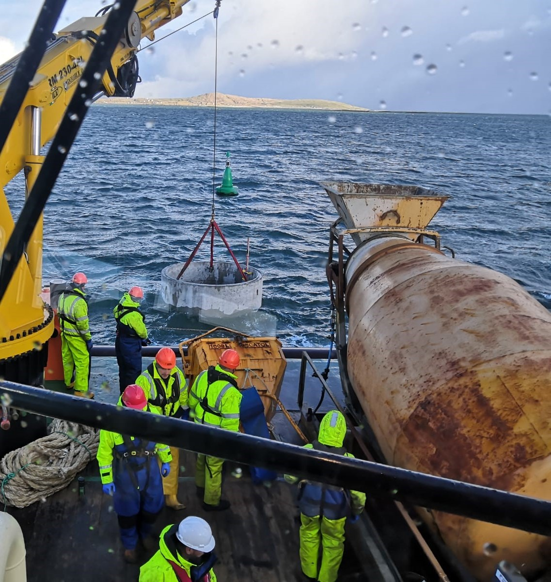 Leask Marine Ltd complete installation of NLB new beacon at Portain.